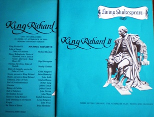 Shakespeare: King Richard II original soundtrack