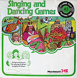 Singing and Dancing Games original soundtrack