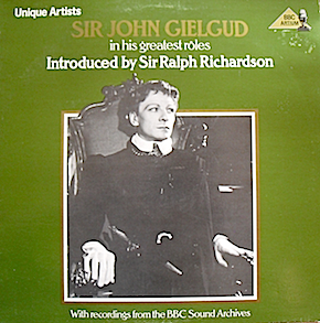 Sir John Gielgud: in his greatest roles original soundtrack