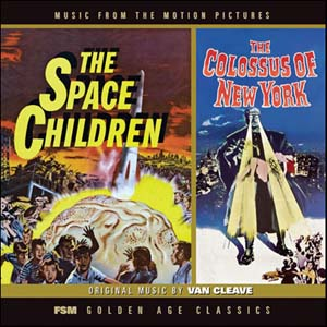 Space Children & The Colossus of New York original soundtrack