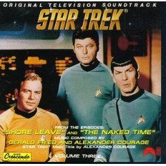 Star Trek: shore leave & the naked time original soundtrack