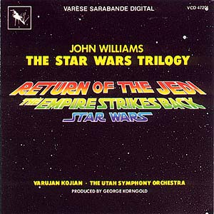 Star Wars Trilogy original soundtrack