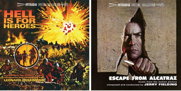 Hell Is For Heroes + Escape From Alcatraz original soundtrack