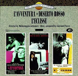 L'Aventura + Deserto Rosso + L'Eclisse original soundtrack