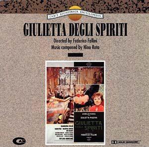 Giulietta Degli Spiriti original soundtrack