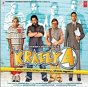 Krazzy 4 original soundtrack