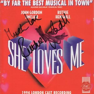 She Loves Me original soundtrack