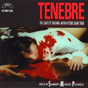 Tenebre original soundtrack