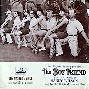 Boy Friend: Players' Theatre /London Cast original soundtrack