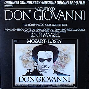 Don Giovanni original soundtrack