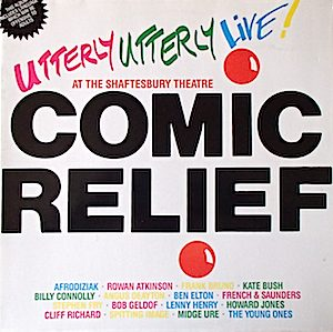 Comic Relief Presents Utterly Utterly Live original soundtrack
