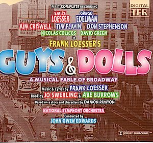 Guys and Dolls: National Symphony Orchestra original soundtrack