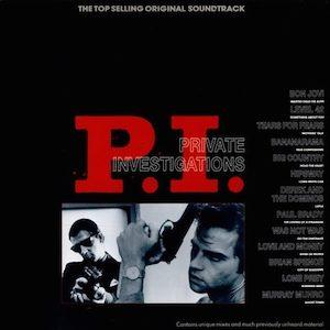 P.I. Private Investigations original soundtrack