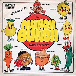 Munch Bunch: John Noakes, Lesley Judd, Peter Purves original soundtrack
