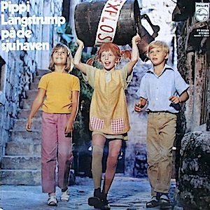 Pippi Longstocking -  Pippi Långstrump På De Sju Haven original soundtrack