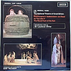 Original Music from the National Theatre of Great Britain original soundtrack