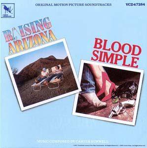 Raising Arizona & Blood Simple original soundtrack