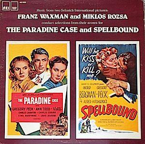 Paradine Case & Spelbound original soundtrack