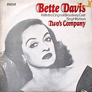 Two's Company: Bette Davis & Broadway cast original soundtrack
