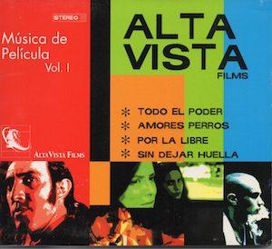 Música de película Vol.1 alta vista films original soundtrack