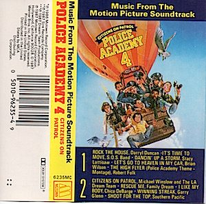 Police Academy 4 original soundtrack