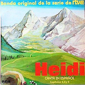 Heidi: Canta en Español original soundtrack
