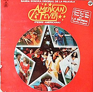 American Fever original soundtrack