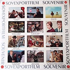 Songs From Soviet Films original soundtrack