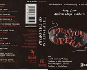 Phantom of the Opera: Songs from original soundtrack