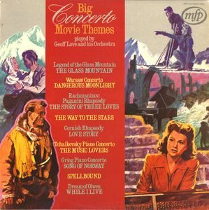 Big Concerto Movie Themes original soundtrack