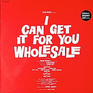 I Can Get It For You Wholesale original soundtrack