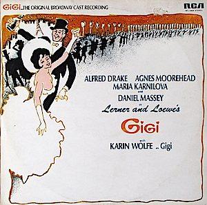Gigi: Broadway cast original soundtrack