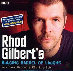 Rhod Gilbert's Bulging Barrel Of Laughs original soundtrack