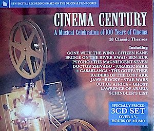 Cinema Century original soundtrack