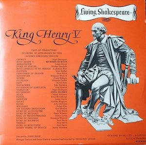 Shakespeare: King Henry V original soundtrack