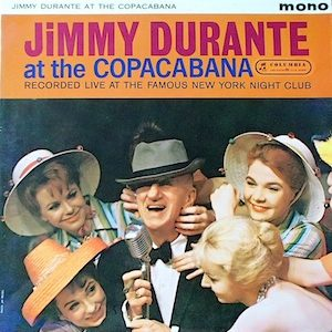 Jimmy Durante: At the Copacabana original soundtrack