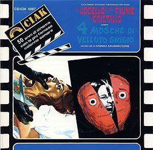 Uccello Dalle Piume Di Cristallo + 4 Mosche Di Velluto Grigio original soundtrack