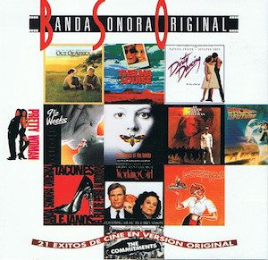 21 Exitos De Cine En Version Original original soundtrack