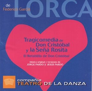 Lorca: Tragicomedia de Don Cristobal original soundtrack