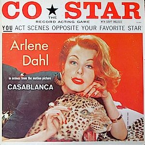Co*Star: Arlene Dahl - The Record Acting Game - Casablanca original soundtrack