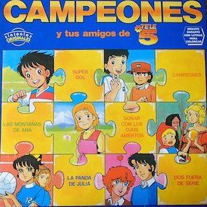 Campeones y Tus amigos de Tele5 original soundtrack