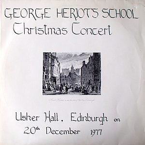 George Heriot's School: Christmas Concert 1977 original soundtrack