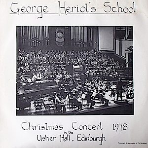George Heriot's School: Christmas Concert 1978 original soundtrack