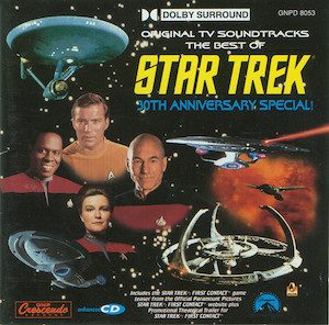 Star Trek: 30th Anniversary Special original soundtrack
