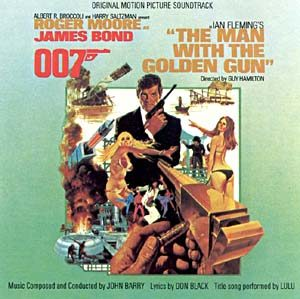 Man With The Golden Gun original soundtrack