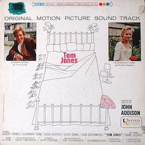 Tom Jones original soundtrack