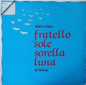 Fratello Sole Sorella Luna original soundtrack