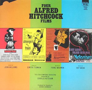 Four Alfred Hitchcock Films original soundtrack