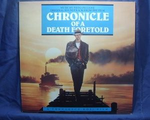 Chronicle of a Death Foretold original soundtrack
