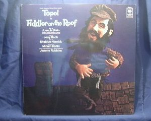 Fiddler on the Roof :original london cast original soundtrack